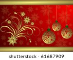 christmas background | Shutterstock . vector #61687909