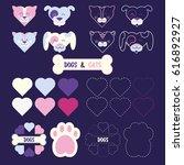 funny animal  illustration icon ... | Shutterstock . vector #616892927