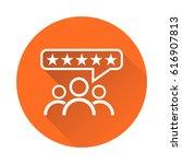 customer reviews  rating  user...   Shutterstock .eps vector #616907813