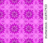 tiled mandala design  best for... | Shutterstock .eps vector #616917923