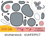 education paper game for... | Shutterstock .eps vector #616935917