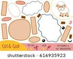 education paper game for... | Shutterstock .eps vector #616935923