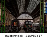 budapest  hungary  april 2 ... | Shutterstock . vector #616983617