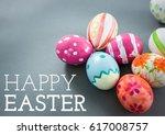 digital composite of white type ... | Shutterstock . vector #617008757