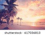 Beautiful Tulum Beach At...