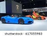 bangkok  april 2  aston martin...   Shutterstock . vector #617055983