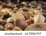 pile of mixed dried fruit and...   Shutterstock . vector #617096747