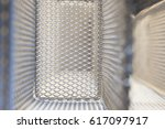 abstract closeup of the mesh of ...   Shutterstock . vector #617097917