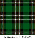 classical checkered green plaid.... | Shutterstock .eps vector #617106683