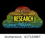 research word cloud collage ... | Shutterstock .eps vector #617133887