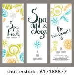 vertical ready design template ... | Shutterstock . vector #617188877