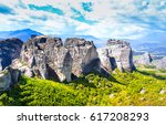 Small photo of Mountain range landscape