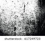 grunge monochrome background.... | Shutterstock .eps vector #617249723