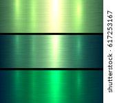 Metal Green Texture Background...