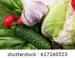 healthy lifestyle | Shutterstock . vector #617260523