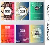 fresh flyer style background... | Shutterstock .eps vector #617278907