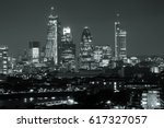 london cityscape with urban... | Shutterstock . vector #617327057