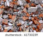 Garbage Bricks Heap