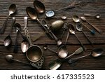 Vintage Retro Tea Spoons And...