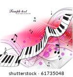 music background | Shutterstock .eps vector #61735048