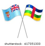 fijian and central african...   Shutterstock .eps vector #617351333