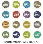 industrial transport vector... | Shutterstock .eps vector #617400677