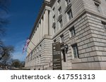 washington  dc   april 2017  us ... | Shutterstock . vector #617551313