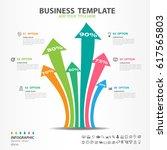 iinfographics elements diagram... | Shutterstock .eps vector #617565803