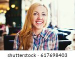 Young Smiling Woman Portrait....