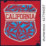 surfer t shirt graphic | Shutterstock .eps vector #617744357