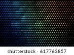 dark multicolor vector modern... | Shutterstock .eps vector #617763857