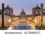 amalienborg  royal danidh... | Shutterstock . vector #617840927