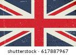 grunge vector image of the... | Shutterstock .eps vector #617887967