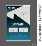 newsletter corporate vector... | Shutterstock .eps vector #617995937