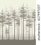 vector illustration trees....   Shutterstock .eps vector #617997257