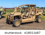 Small photo of MONTGOMERY, ALABAMA - APRIL 8, 2017: Military All Terrain Vehicle: Sporty military all terrain vehicle.
