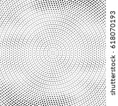 round halftone effects. | Shutterstock .eps vector #618070193