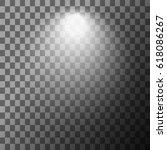 scene illumination. cold light... | Shutterstock .eps vector #618086267