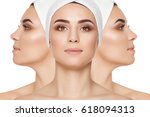 different views and sides of... | Shutterstock . vector #618094313