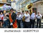new orleans  louisiana   usa  ... | Shutterstock . vector #618097913