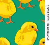 Chicken Seamless Pattern ...