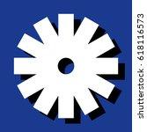 raster illustration. snowflake... | Shutterstock . vector #618116573