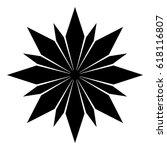 raster illustration.  snowflake ... | Shutterstock . vector #618116807