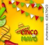 holiday celebration banner for... | Shutterstock . vector #618170423