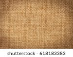 brown sack texture for rice bag ...   Shutterstock . vector #618183383