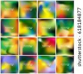 abstract creative concept... | Shutterstock .eps vector #618184877