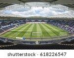 liberty stadium looking north... | Shutterstock . vector #618226547