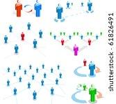 network concept. vector... | Shutterstock .eps vector #61826491
