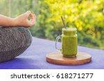 closeup of a woman's hands...   Shutterstock . vector #618271277