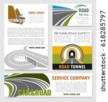 road travel and tour service... | Shutterstock .eps vector #618285797